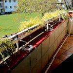 Balkonkasten Verkabelung