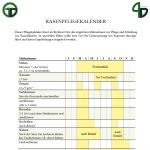 Rasenpflegekalender Vorschaubild